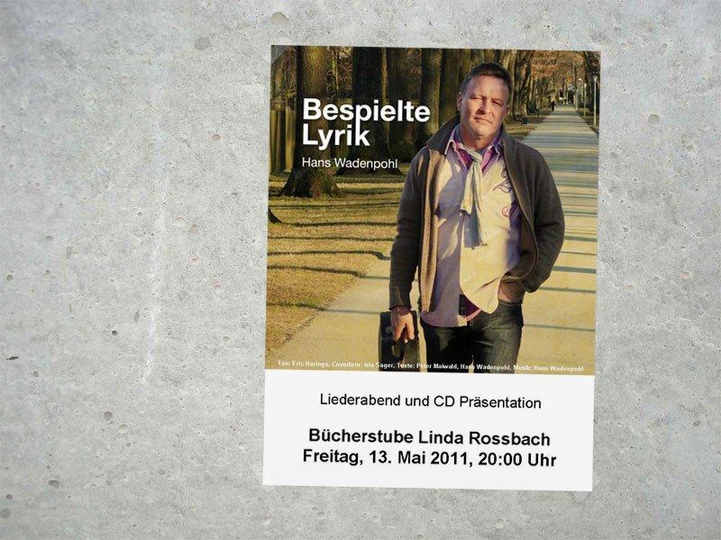 Poster zur CD-Präsentation 2011